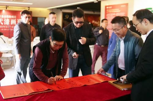 """国家艺术基金资助项目""""中国当代漆画巡展""""首展开幕"""