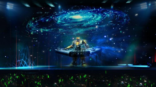 HoloFestival变形金刚主题全息电音嘉年华| 2019首站落地海口
