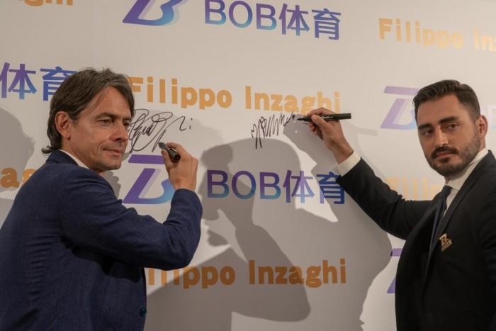 意甲博洛尼亚足球俱乐部主教练菲利波·因扎吉代言BOB体育