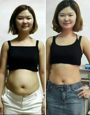 减肥成功:一个月减30斤