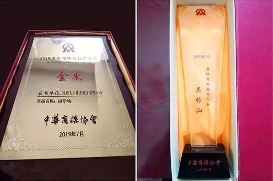 天山集团董事局主席吴振山荣膺2019年度品牌商标领军人物