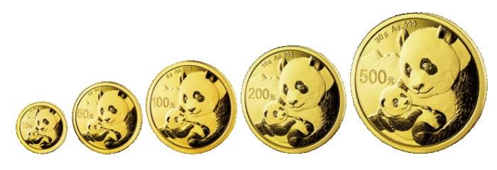 高考礼品熊猫金币受家长热捧