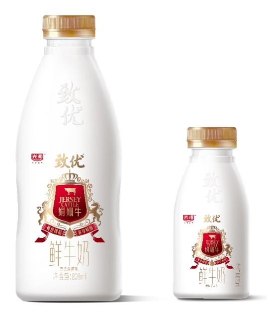 光明致优娟姗鲜牛乳首发亮相,引领鲜奶品质新高度