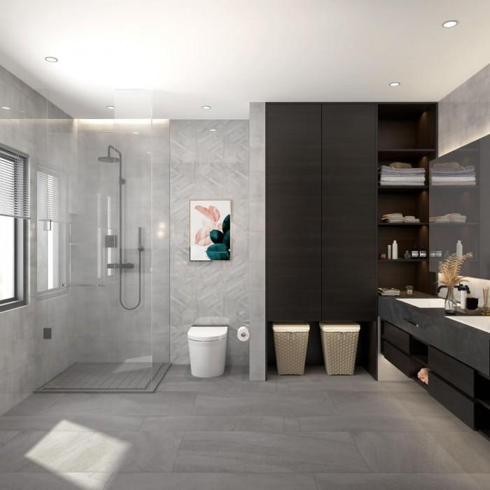 如何解决卫生间瓷砖遇水变滑问题?家里有老人小孩一定要看
