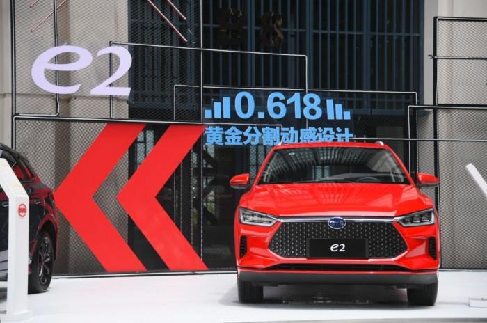 10万级别更安全的纯电动车!看比亚迪e2就够了