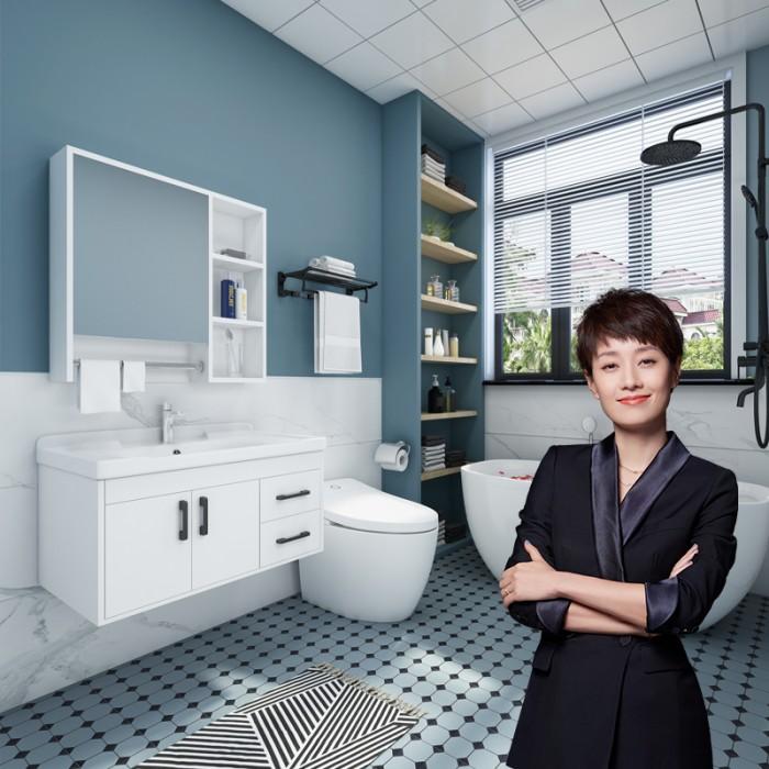 极简实用新风向 四季沐歌浴室柜演绎新美学
