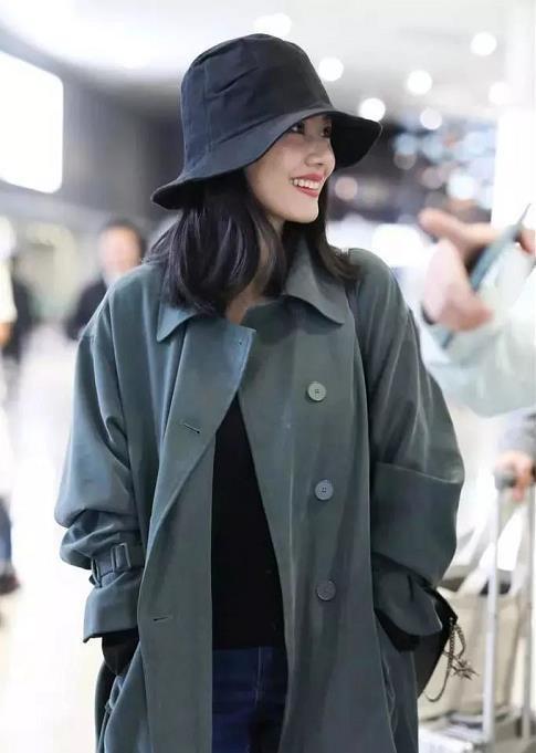 街拍女神高圆圆,比起她冰封年代的美貌,我更想学习她的秋冬装!