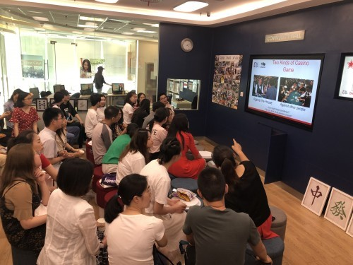 华尔街英语北京学习中心,让你见识到不一般的派对