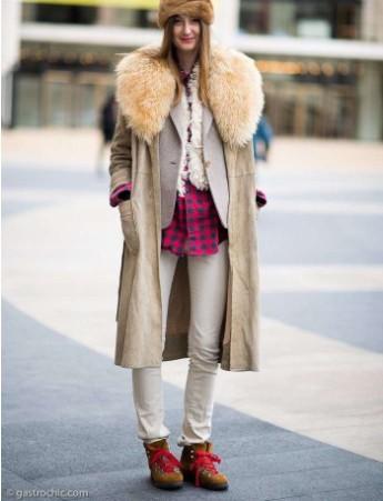 皮草这种冬季贵妇单品 怎么穿才时髦?