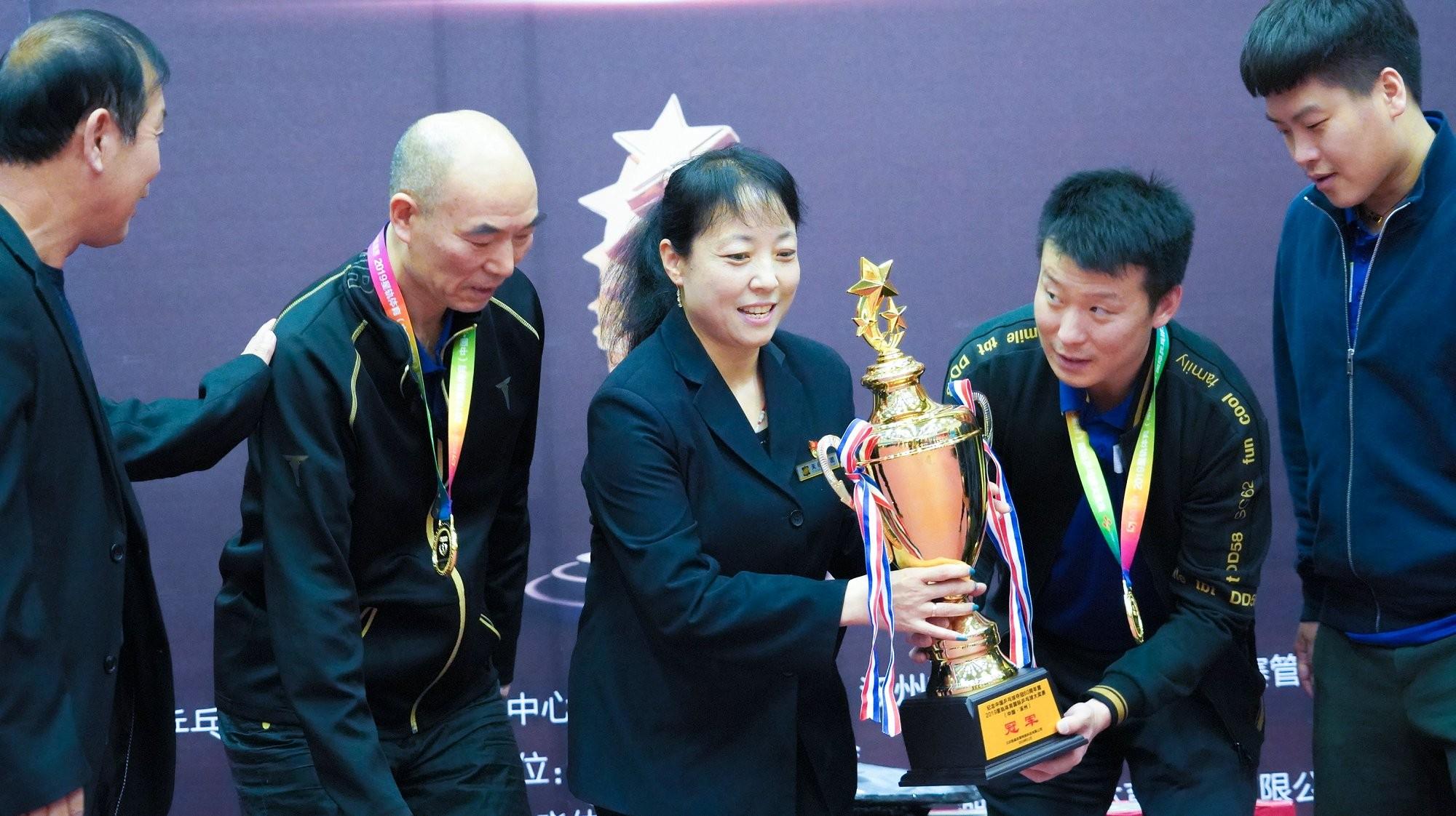 世界冠军乒坛大腕云集 星轨体育天保杯国际乒乓球大奖赛完美收官