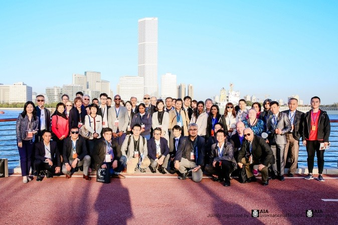 暖框科技支持美国建筑师协会亚洲的参访活动