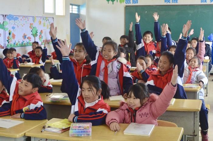 """""""暖微课外书屋""""落成,这个学校有福了"""