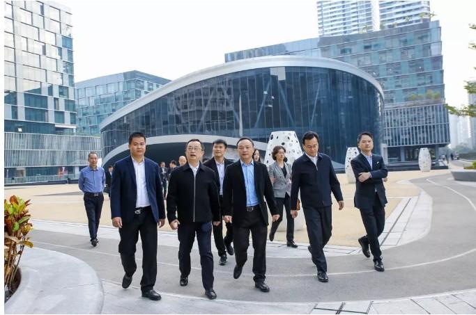 梅州市陳敏書記、張愛軍市長一行蒞臨星火集團考察指導