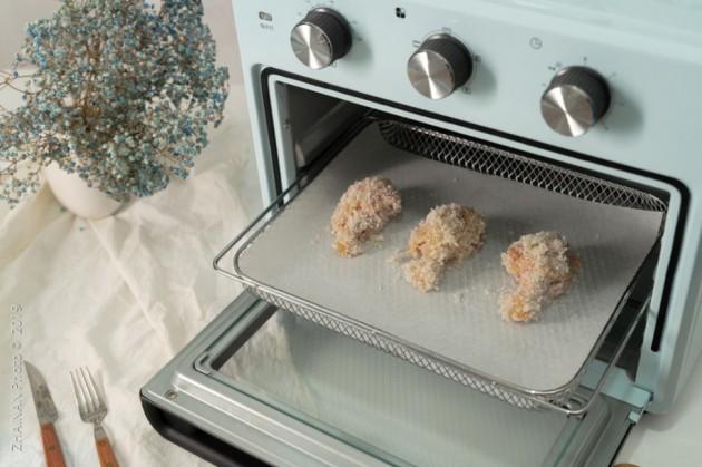 """ACA北美電器:空氣炸烤箱短時間吃上一桌無油""""炸""""貨"""