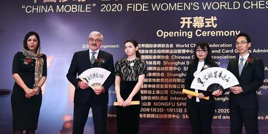 """中国移动""""2020世界国际象棋女子锦标赛冠军对抗赛在上海静安洲际酒店开幕"""