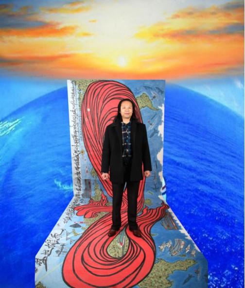 陈金辉——国际著名爱国艺术将领 献礼两会