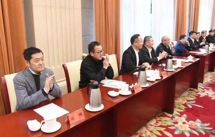 民营企业家迎春座谈会召开 贝壳董事长左晖:坚定信心,践行新发展理念