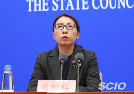 ↑国家卫生健康委员会医政医管局负责人焦雅辉(刘健 摄)图源:国新办