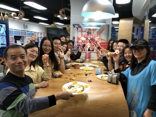 华尔街英语南京学习中心美食乐园已经开启,你准备好了吗?