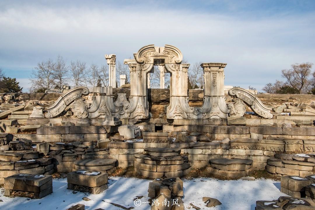 北京最著名的喷泉,100多年前被英国人放火焚烧