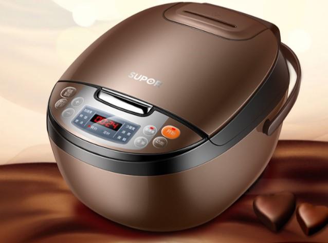 苏泊尔CFXB40FC829D-75智能电饭煲,智能蒸煮,安全美味