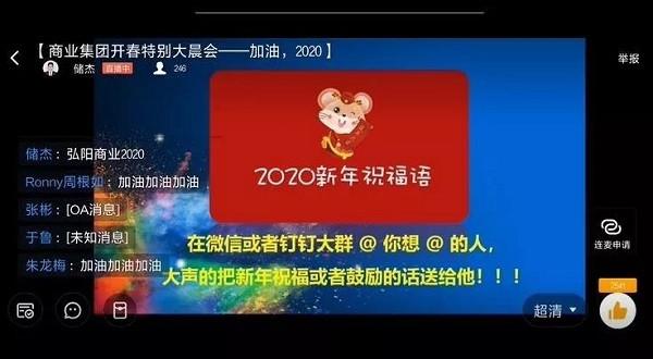 弘阳地产商业集团开年大晨会——加油,2020!