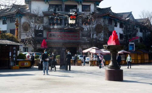 东去春会来,伟光汇通旗下文旅小镇复工进行时。。。。