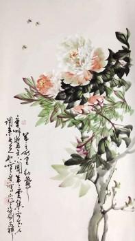 """国画大师""""牡丹圣手""""--李幼华抗疫""""环球行"""""""