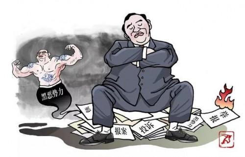罗山县楠杆镇:纵容犯罪行为图的啥?