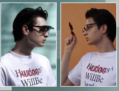 JINS睛姿时尚眼镜 一镜两用无惧阳光