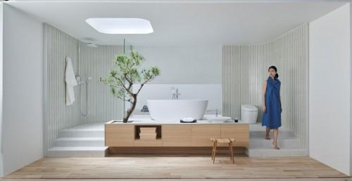 """日本INAX伊奈卫浴S600套间系列 打造""""空间+艺术""""双重卫浴体验"""