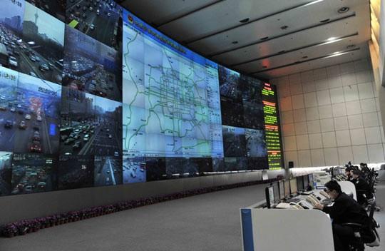 北京交通指挥中心的大屏应用.jpg