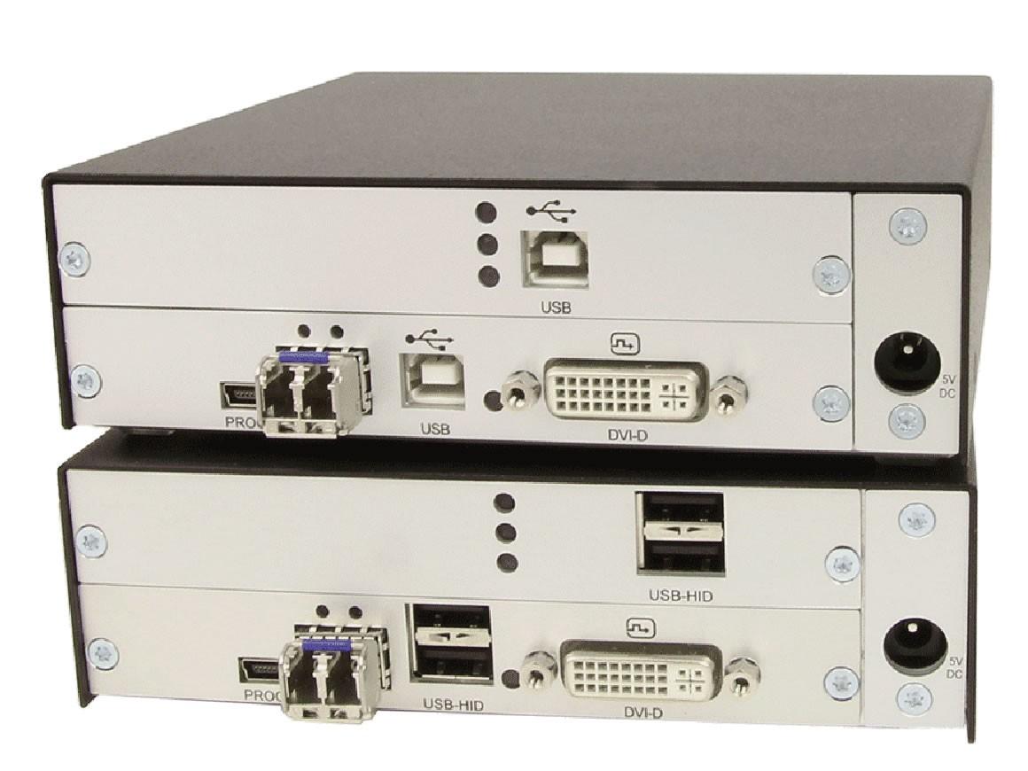典型光纤KVM的视频信号编解码在输入输出设备中完成.jpg