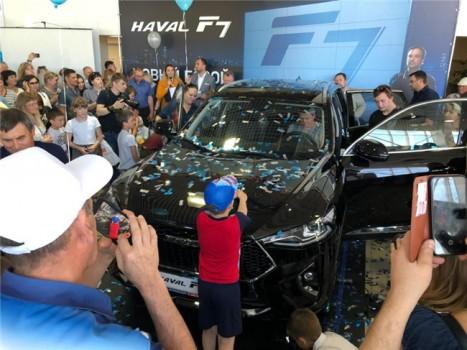 让世界见证中国汽车潮智魅力 哈弗F7逐鹿全球之旅迎来一周年