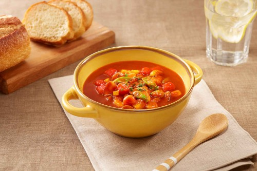 法式浓汤怎么做?一盒好侍番茄红烩调料就能搞定