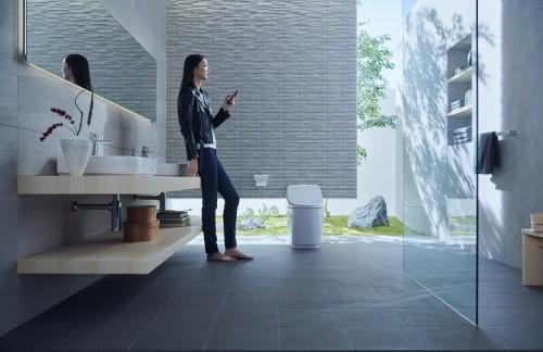 日本INAX伊奈卫浴S400连体马桶黑科技赋能,坐享舒适生活
