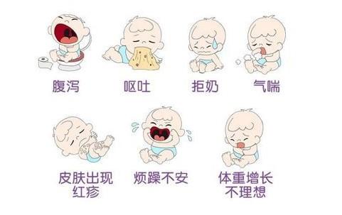 宝宝出现这些症状!就要检查奶粉过敏情况了!