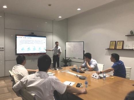 天安保險總公司運營中心召開汛期及臺風多發季理賠應對工作會議