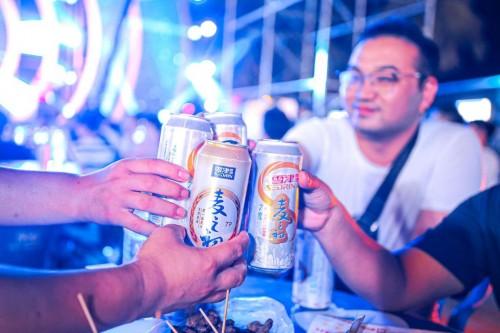 雪津啤酒美食季开盖启动 九江盛夏夜等你来嗨