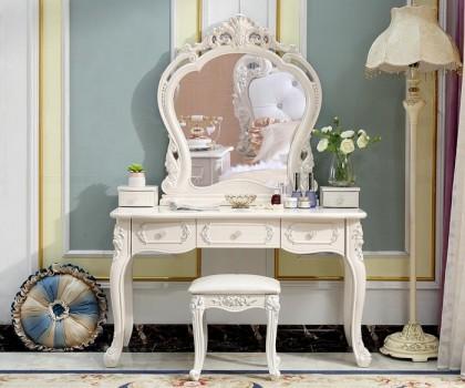 卧室小梳妆台没地方放?森光大道住宅家具让你试试一体化设计