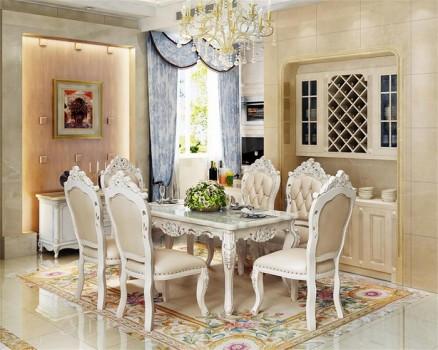 森光大道住宅家具:餐桌不能随便放,摆放位置也有讲究