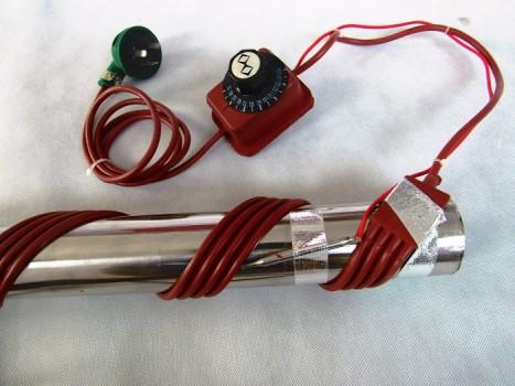 管道结冰怎么办?别干等着用热掌柜电热设备的办法很简单!