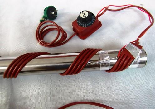 不知道管道加热带的型号如何选择?热百年电热设备给你答案