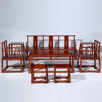 谁说只有大客厅才能选择红木沙发?子杰家具不以为然