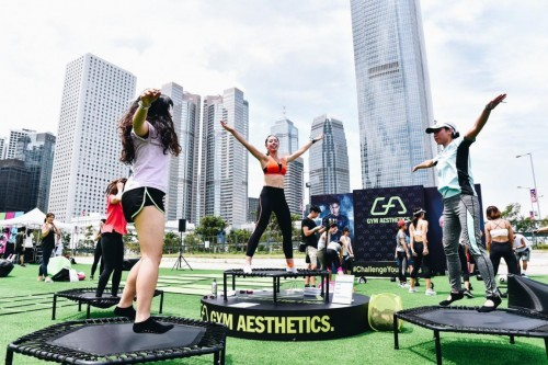 GA全球明星教练演绎欧亚健身文化背景下的完美体态