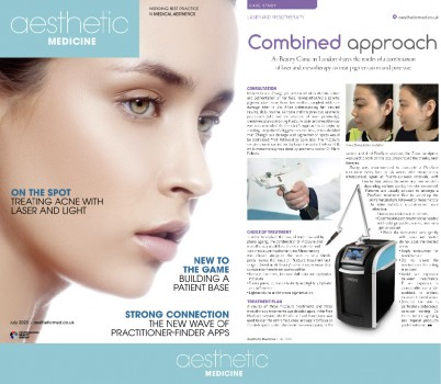 Ai Beauty Clinic登上欧洲顶级医美杂志Aesthetic Medicine