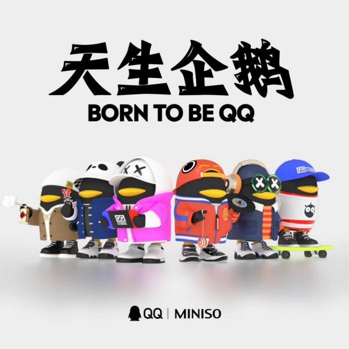 騰訊QQ&名創優品聯名DIY潮玩盲盒炫酷來襲,等你來拆!