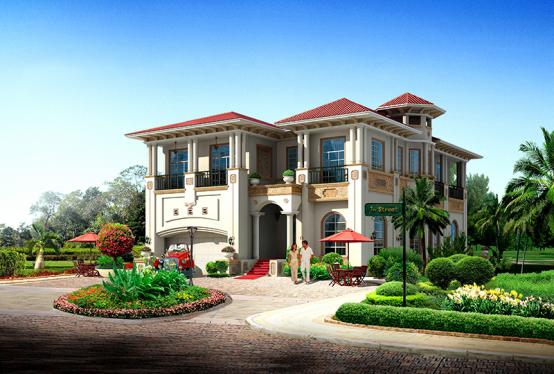 声望世家轻钢别墅品牌,满意顾客各种不同的装饰风格