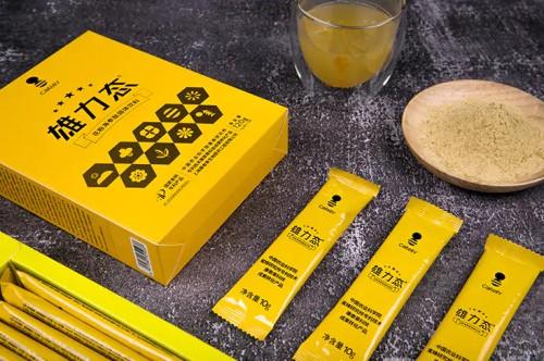 康泰莱在传承中创新,打造破壁酶解花粉品牌饮品——雄力态花粉海参肽