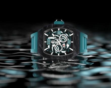 这是一只属于海洋的腕表,送给所有热爱远航的人